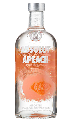 Absolut Peach Vodka 700ml