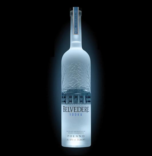 Belvedere 3LTR Vodka - Night Sabre Jeroboam
