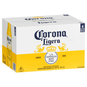 Corona Ligera Bottles 330ml x 24