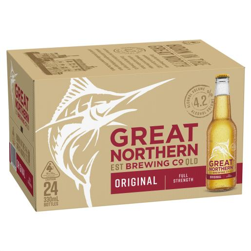 Great Northern Original Lager 330ml x 24