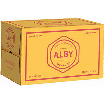 Gage Roads Alby Crisp Bottles 330ml x 24