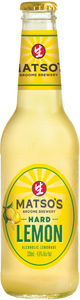Matso's Hard Lemon 330ml x 24 Bottles
