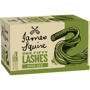 James Squire 150 Lashes Pale Ale Bottles 345ml x 24