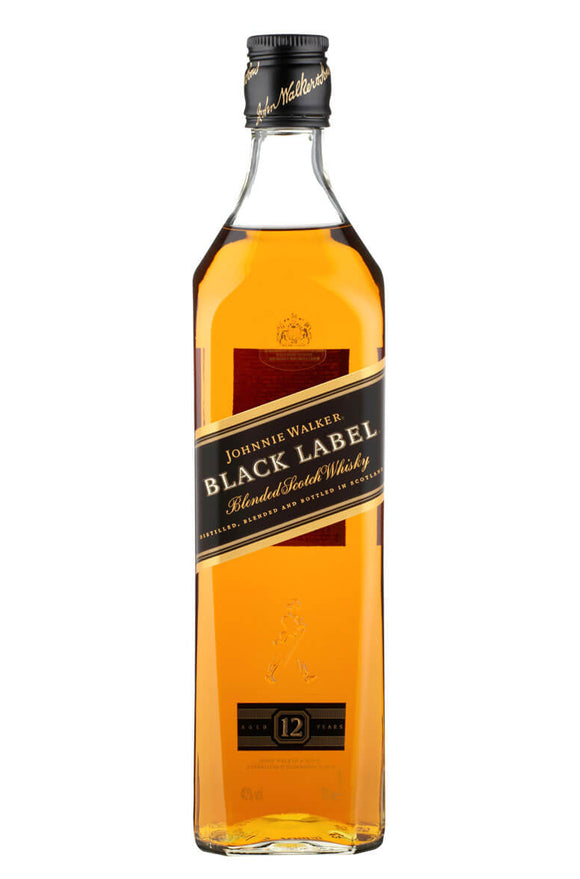 Johnnie Walker Black Label Scotch 700ml