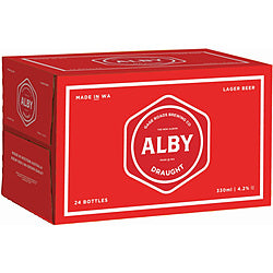 Gage Roads Alby Draught Stubbies 330ml x 24