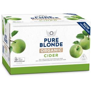 Pure Blonde Cider 355ml x 24 Bottles