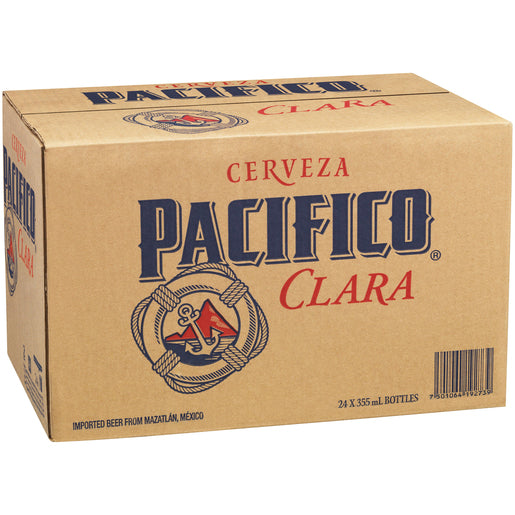 Pacifico Clara Bottles 355ml 24