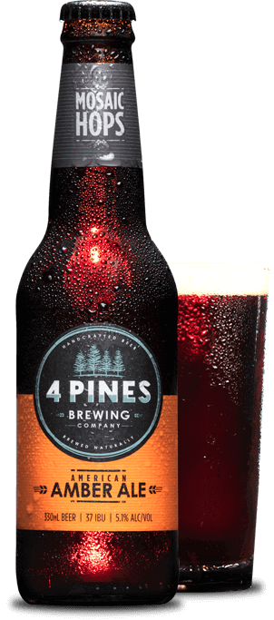 4 Pines Amber Ale 330ml x 24
