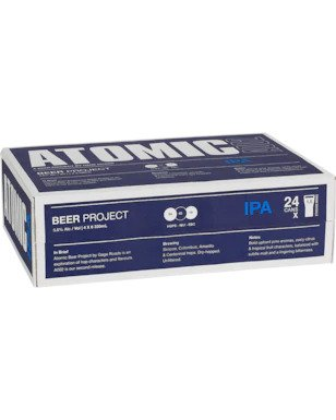 Atomic Beer Project IPA Cans 330ml x 24