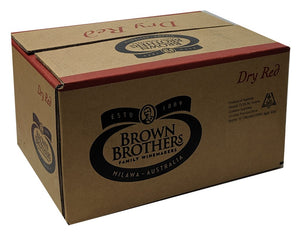"Brown Brothers ""Milawa"" 10L Dry Red Cask"