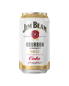 Jim Beam & Cola MID 3.5% Cans 375ml x 24