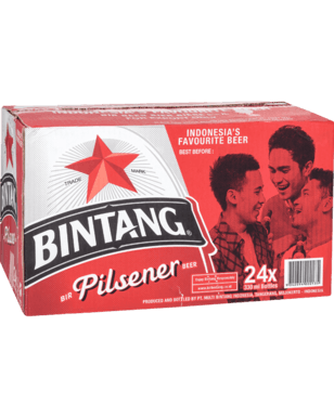 Bintang Pilsner Bottles 330ml x 24