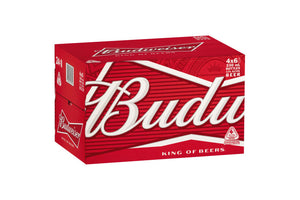 Budweiser Bottles 330ml x 24