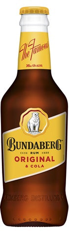 Bundaberg & Cola 4.6% Subbies 345ml x 24