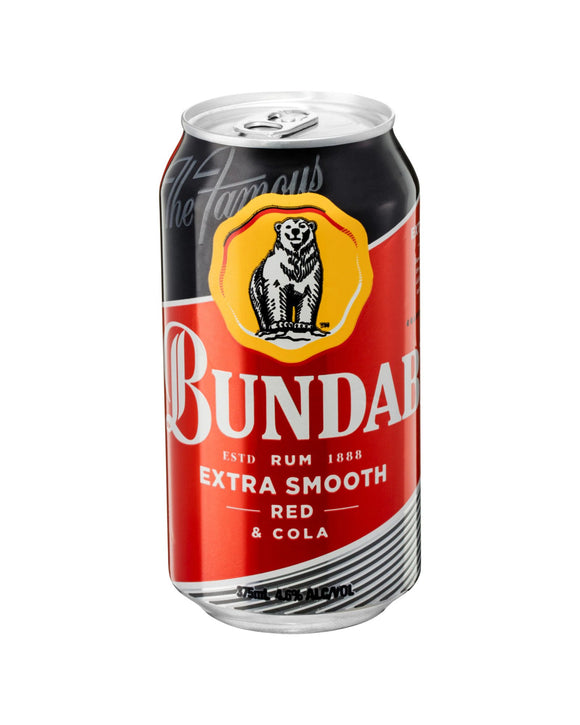 Bundaberg Red & Cola 4.6% Cans 375ml x 24