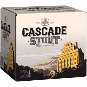 Cascade Stout Stubbies 375ml x 16