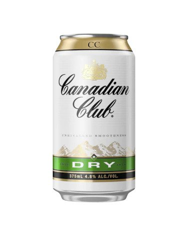 Canadian Club & Dry 4.8% Can 375ml x 24