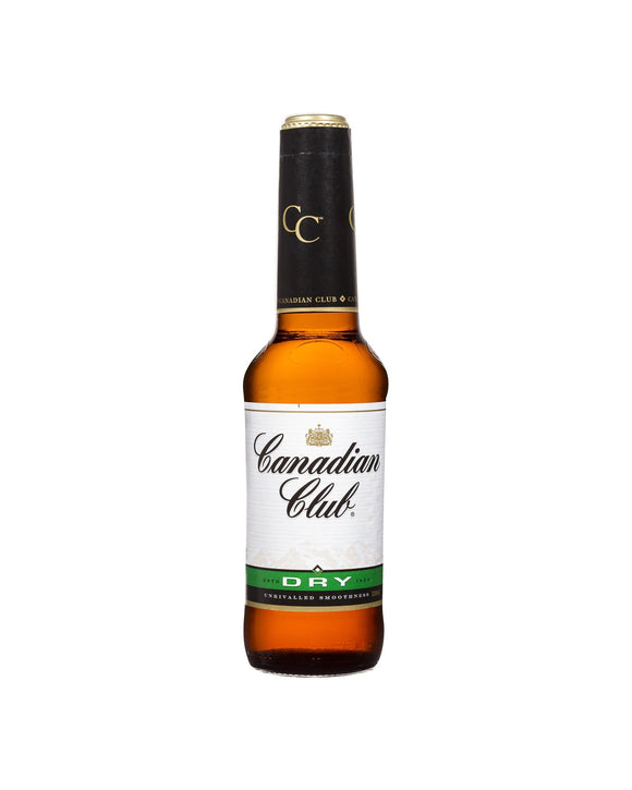 Canadian Club & Dry 4.8% Stubby 330ml x 24