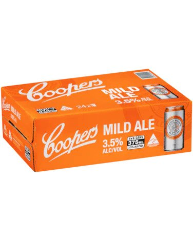 Coopers Mild Cans 375ml x 24