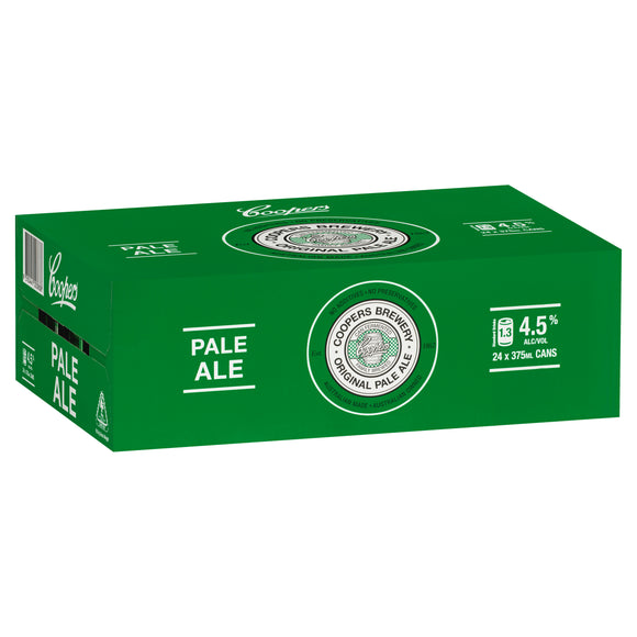 Coopers Pale Ale Cans 375ml x 24