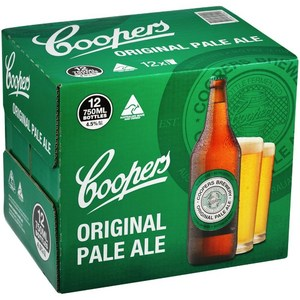 Coopers Pale Ale Long Neck 700ml x 12