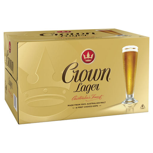 Crown Lager 375ml x 24