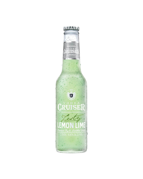 Vodka Cruiser Lemon & Lime 4.6% 275ml x 24