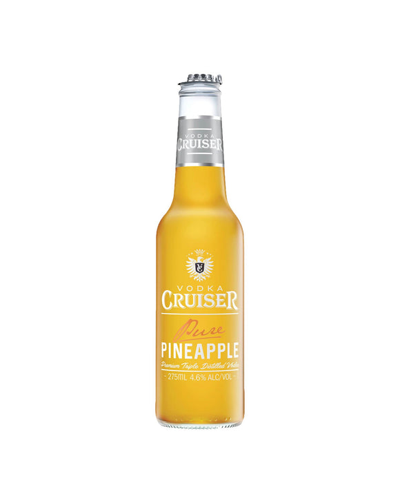 Vodka Cruiser Pure Pineapple 4.6% 275ml x 24