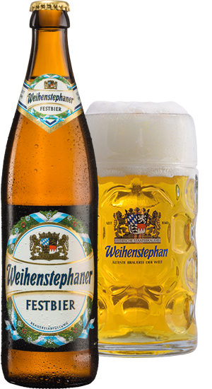 Weihenstephan Festbier Bottles 500ml x 12