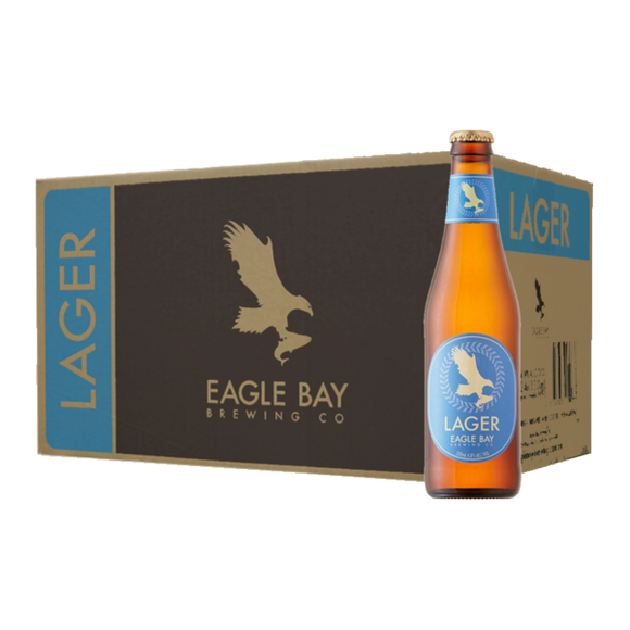 Eagle Bay Lager 330ml x 24