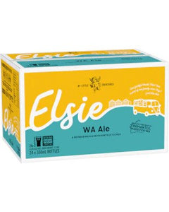 Little Creatures Elsie Bottles 330ml x 24