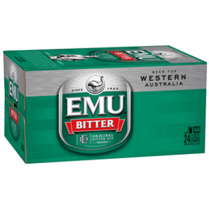 Emu Bitter Stubbies 375ml x 24