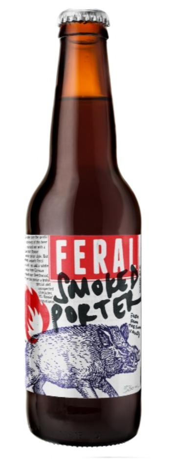 Feral Smoked Porter Bottles 330ml x 24