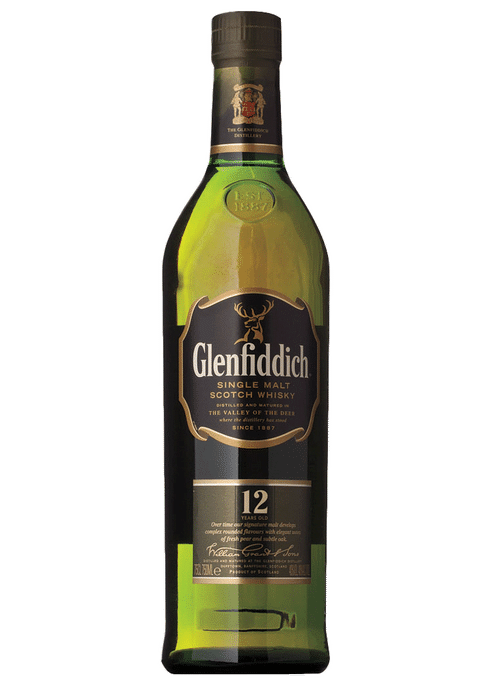 Glenfiddich 12yo Scotch 700ml