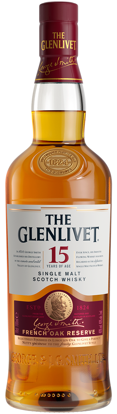 The Glenlivet 15yo Scotch 700ml
