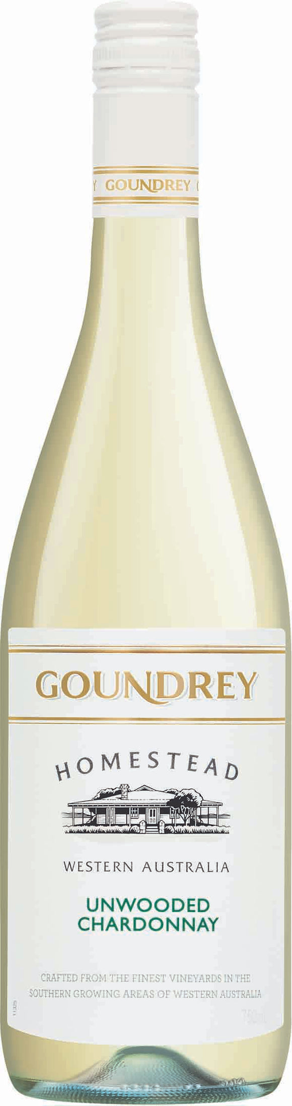 Box of 6 Goundrey Homestead Unwooded Chardonnay