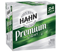 Hahn Premium Light Cans 375ml x 24