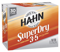 Hahn Super Dry 3.5% Cans Block 375ml x 30