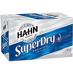 Hahn Super Dry 4.6% 330ml x 24