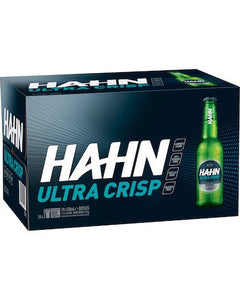 Hahn Ultra Crisp Stubbies 330ml x 24