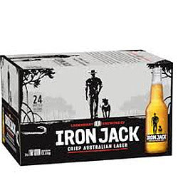 Iron Jack 3.5% Stubbies 330ml x 24