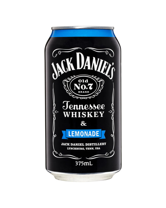 Jack Daniel's & Lemonade 4.8% Cans 375ml x 24