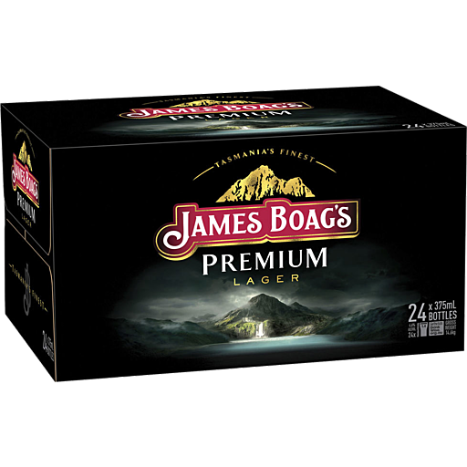 James Boags Premium Bottles 345ml x 24