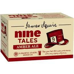 James Squire Nine Tails Amber Ale 345ml x 24