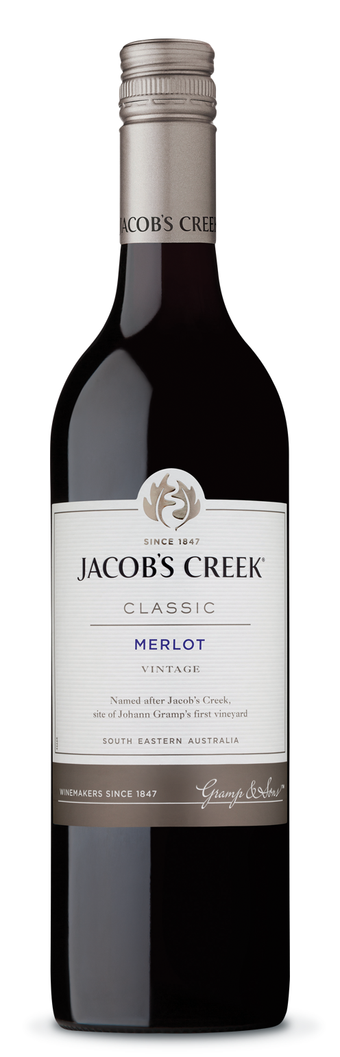 Jacobs Creek Classic Merlot 187ml ctn/24