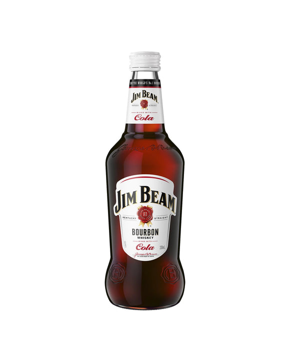 Jim Beam & Cola 4.8% Bottle 330ml x 24
