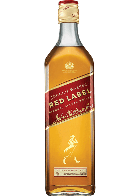 Johnnie Walker Red Label Scotch 700ml