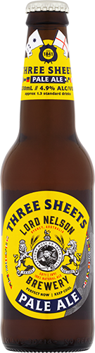 Lord Nelson Three Sheets Pale Ale Bottles 330ml x 24