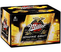 Millers Genuine Draft Bottles 330ml x 24