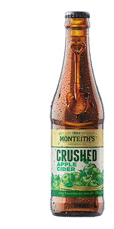 Monteiths Apple Cider 330ml x 24 Bottles
